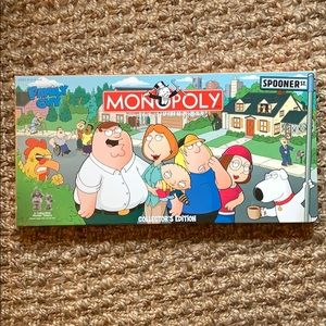 Collector's Edition Family Guy Monopoly